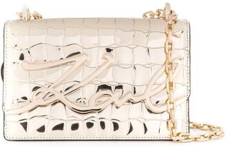 Karl Lagerfeld Paris K signature crossbody bag