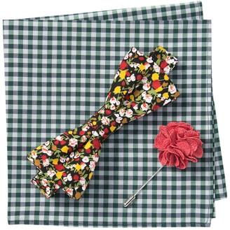 Original Penguin Reese Floral Bow Tie 3-Piece Set