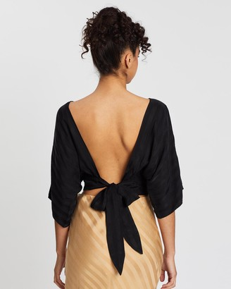 Third Form Tie Back Blouse
