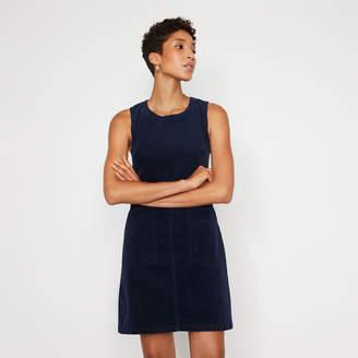 Warehouse CORD PINAFORE DRESS