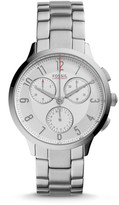 Fossil Abilene Chronograph Stainless Steel Watch