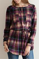 Entro Plaid Princess Top