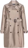 Mynt 1792 Plus Size Cotton blend trench coat