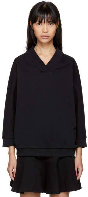 Kenzo Black Logo Sport Sweatshirt