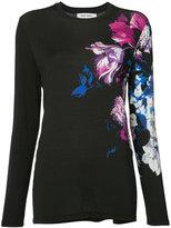 Prabal Gurung floral print T-shirt - women - Viscose - M