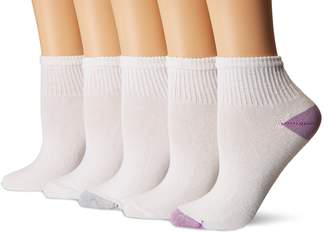 Gildan Women's Flat Knit Ankle Socks 10 Pairs