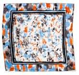 Diane von Furstenberg Silk Printed Scarf