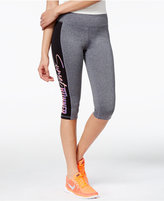 Material Girl Active Juniors' Cropped Graphic Leggings, Only at Macy's