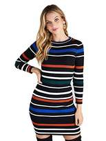 Yumi Stripe Knit Dress