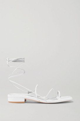 Studio Amelia 1.1 Leather Sandals - White