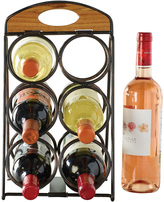 Mikasa Gourmet Basics Foldable 6 Bottle Wine Rack