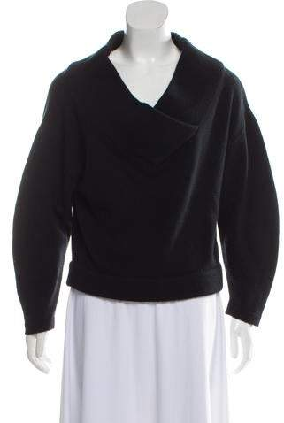 Wool V-Neck Sweater w- Tags