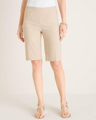 BRIGITTE Slim Shorts - 10 Inch Inseam
