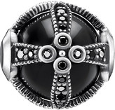 Thomas Sabo Royalty Black sterling silver karma bead