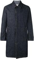MACKINTOSH single breasted coat - men - Cotton - 36