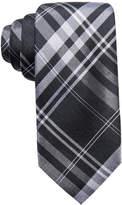 Ryan Seacrest Distinction Ryan Seacrest Distinctionandtrade; Men's Turn Plaid Slim Silk Tie, Created for Macy's