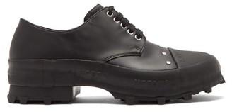 Camperlab - Traktori Studded Leather And Rubber Derby Shoes - Black