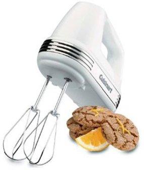 Cuisinart 7-speed Hand Mixer, White