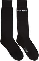Kenzo Black Paris/New York Socks
