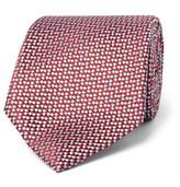Brioni 8cm Silk-Jacquard Tie