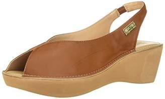 Kenneth Cole Reaction Women's Fine Stretch Slingback Platform Sandal Wedge