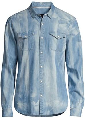 John Varvatos Marshall Regular-Fit Denim Shirt