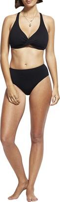 Seafolly Women's F Cup Wrap Front Bikini Top Swimsuit
