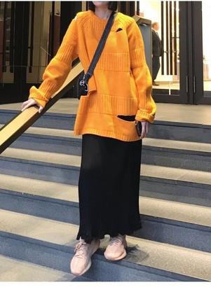 LUXMIX Long knitted jumper