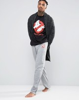 Asos Loungewear Halloween Pajama Bottoms With Ghostbuster Print