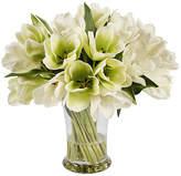 """Winward Silks 19"""" Tulips in Vase - Faux"""
