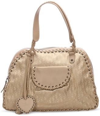 Christian Dior pre-owned Oblique Canvas shoulder bag