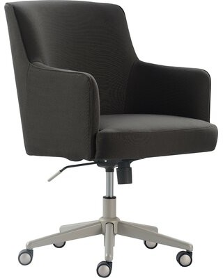 Tommy Hilfiger Belmont Task Chair Upholstery Color: Gray