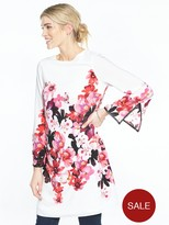 Wallis Pink Posie Print Tunic