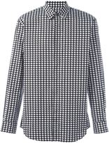 DSQUARED2 houndstooth print shirt