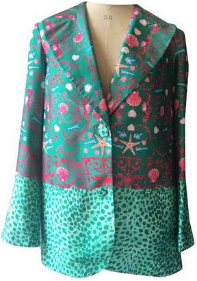 Manoush Green Jacket for Women