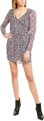 AVEC LES FILLES Flores Mini Dress