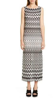 Missoni Sleeveless Knit Midi Dress
