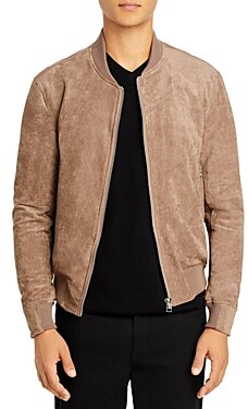 Blank NYC Faux Suede Bomber Jacket