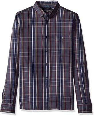 French Connection Men's Lifeline Tartan