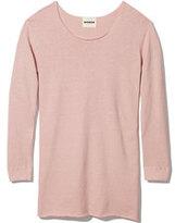 Monrow Fleece Sweatshirt Dress