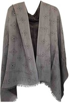 Louis Vuitton Purple Cashmere Scarves