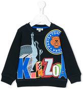 Kenzo logo print sweatshirt - kids - Cotton - 24 mth
