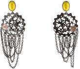 Bottega Veneta Cog Wheel Earrings