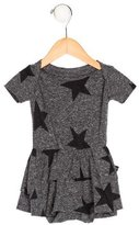 Nununu Girls' Star Print Short Sleeve All-In-One