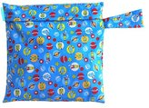 Charlie Banana Washable Diaper Tote Wet Bag (Orbit)