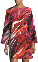 Julie Brown Audrey Graphic-Print Shift Dress