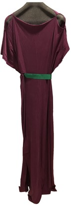 Roksanda Ilincic Purple Silk Dresses