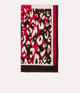 Karen Millen Leopard Print Scarf