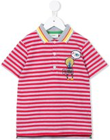 Fendi striped polo shirt - kids - Cotton - 4 yrs