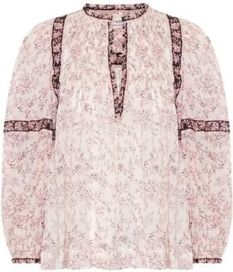 Etoile Isabel Marant Isabel Marant, étoile Violette floral cotton top